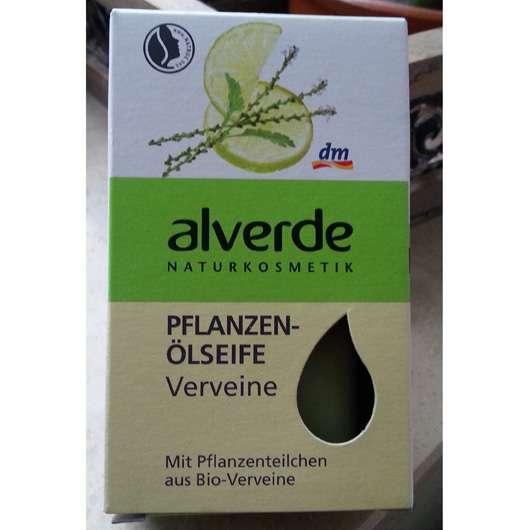 alverde Pflanzenölseife Verveine