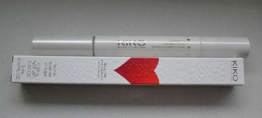 KIKO All-In Eye Marker And Kajal, Farbe: Black (LE)