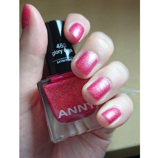 ANNY Nagellack, Farbe: 486 glory days