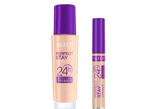 ASTOR Make Up-Linie Perfect Stay 24 H + Perfect Skin Primer