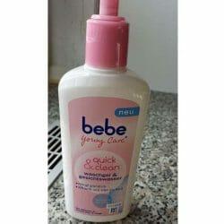 Produktbild zu bebe® Young Care quick & clean waschgel & gesichtswasser