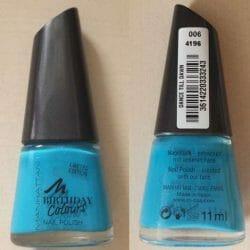 Produktbild zu MANHATTAN Birthday Colours Nail Polish – Farbe: 006 Dance Till Dawn (LE)