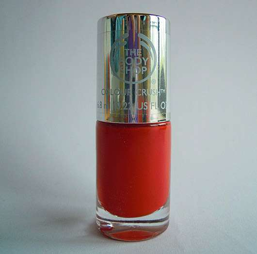The Body Shop Colour Crush Nail Colour, Farbe: 130 Red My Mind