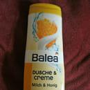 Balea Dusche & Creme Milch & Honig