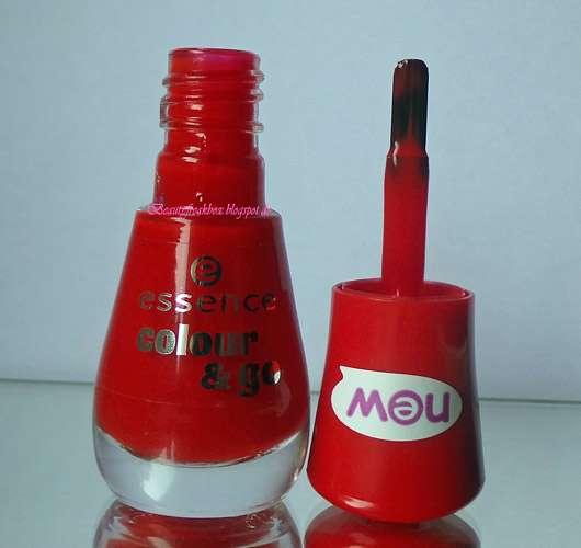 essence colour & go nail polish, Farbe: 187 juicy love