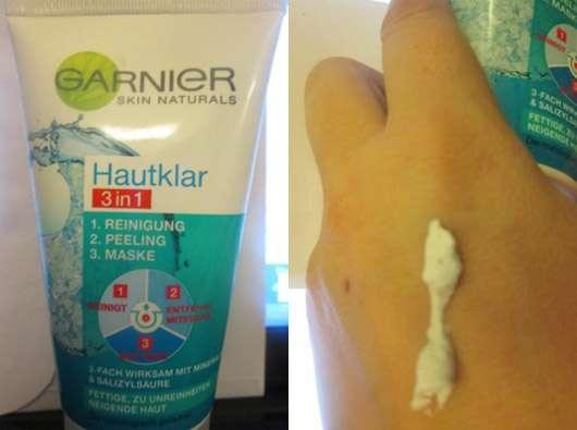 Garnier Skin Naturals Hautklar 3in1 Reinigung + Peeling + Maske