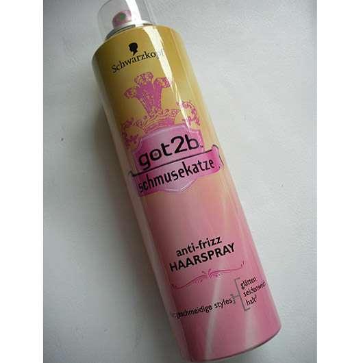 Schwarzkopf got2b Schmusekatze Anti-Frizz Haarspray
