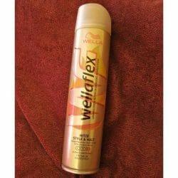 Produktbild zu wellaflex Hitze Style & Halt Haarspray