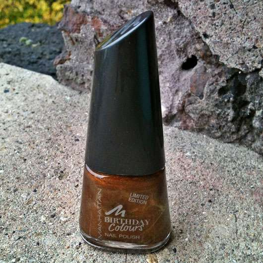 Manhattan Birthday Colours Nail Polish, Farbe: 007 Caramel Candy (LE)