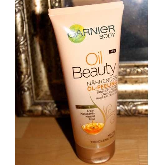 <strong>Garnier Body</strong> Oil Beauty Nährendes Öl-Peeling
