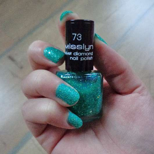 Misslyn Velvet Diamond Nail Polish, Farbe: 73 oriental emerald