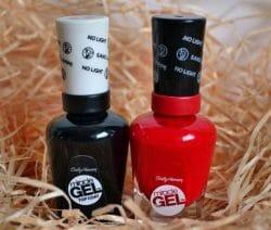 Produktbild zu Sally Hansen Miracle Gel Color & Top Coat – Farbe: Red Eye