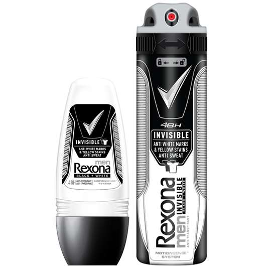 REXONA MEN INVISIBLE BLACK + WHITE