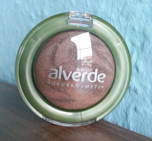 alverde Gebackener marmorierter Lidschatten, Farbe: 10 Glowing Brown
