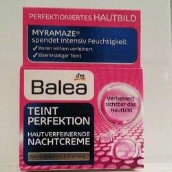 Produktbild zu Balea Teint Perfektion Hautverfeinernde Nachtcreme