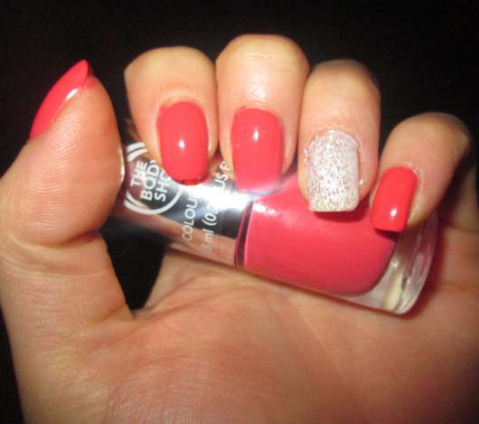 The Body Shop Colour Crush Nail Colour, Farbe: 330 Rosy Cheeks