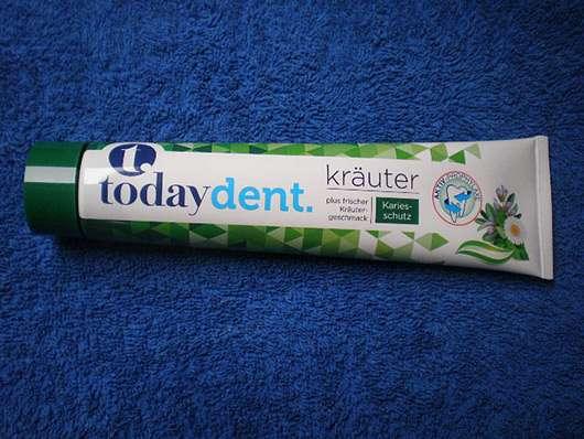 today dent Kräuter Zahncreme