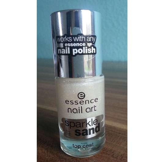 <strong>essence nail art</strong> sparkle sand top coat - Farbe: 24 i feel gritty!
