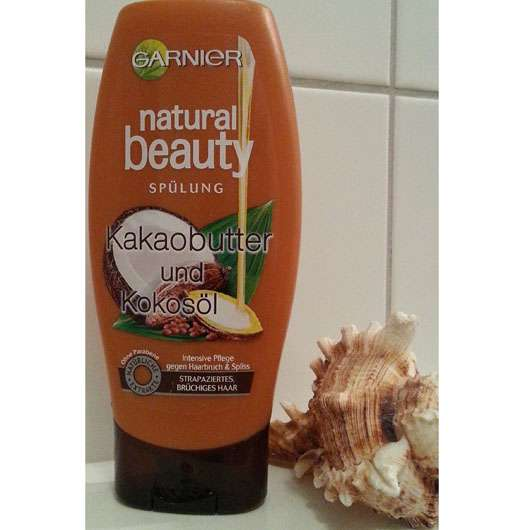 Garnier Natural Beauty Kakaobutter & Kokosöl Spülung
