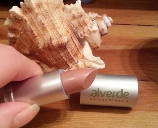 alverde Color & Care Lippenstift, Farbe: 59 Dusty Nude