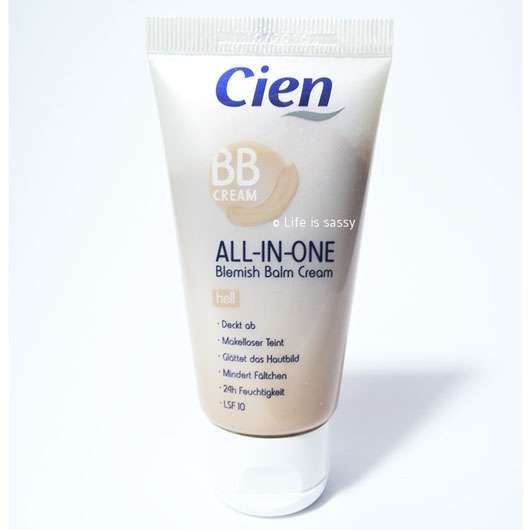 <strong>Cien</strong> BB Cream All-In-One - Farbe: hell