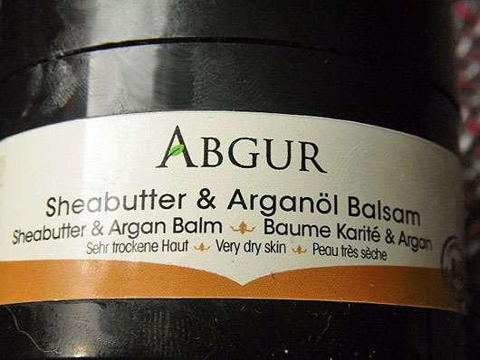 Abgur Sheabutter & Arganöl Balsam