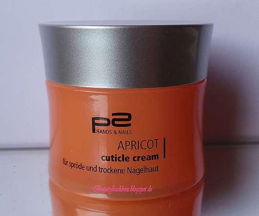 p2 Apricot Cuticle Cream (für spröde und trockene Nagelhaut)