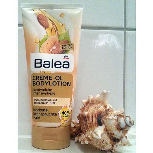 Balea Creme-Öl Bodylotion Marulanuss (LE)