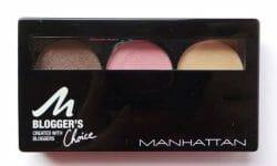 Produktbild zu MANHATTAN Blogger's Choice Eyeshadow – Farbe: 3 Downtown to Earth (LE)