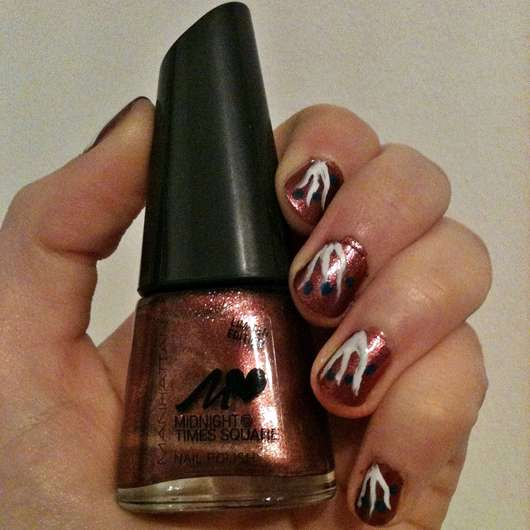 MANHATTAN Midnight @ Times Square Nail Polish, Farbe: 002 Rosy Ruby (LE)