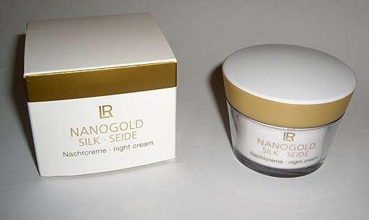 <strong>LR Nanogold</strong> Silk Nachtcreme