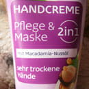 Balea Handcreme 2in1 Pflege & Maske mit Macadamia-Nussöl