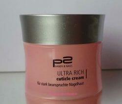 Produktbild zu p2 cosmetics Ultra Rich Cuticle Cream