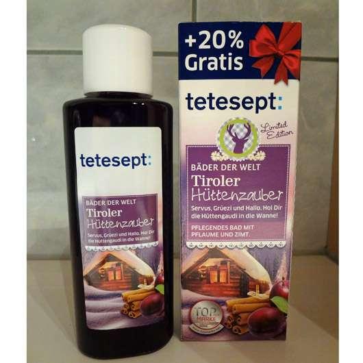 <strong>tetesept</strong> Bäder der Welt Tiroler Hüttenzauber Bad (LE)