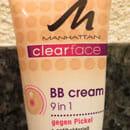 MANHATTAN CLEARFACE BB Cream 9 in 1, Farbe: 03 mittel