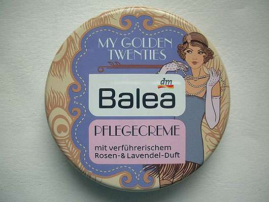 Balea Pflegecreme My Golden Twenties
