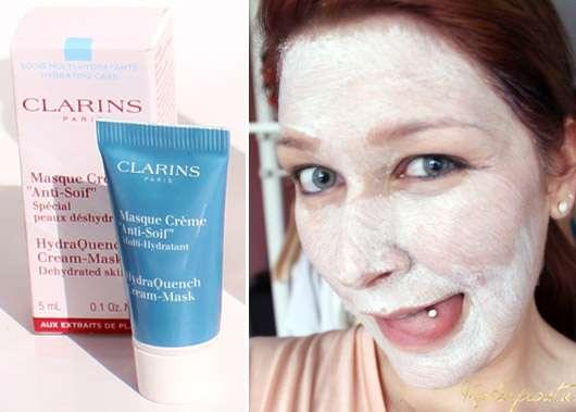"Clarins Masque Crème ""Anti-Soif"""