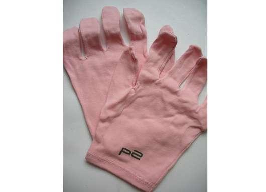p2 Baumwoll-Pflegehandschuhe