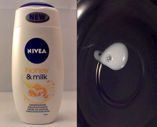 Nivea Honey & Milk Cremedusche