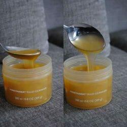 Produktbild zu The Body Shop Honeymania Bubble Bath Melt