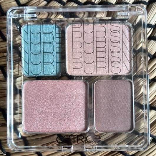 Catrice Eye Colour Quattro, Farbe: C01 Naked Brown (LE)