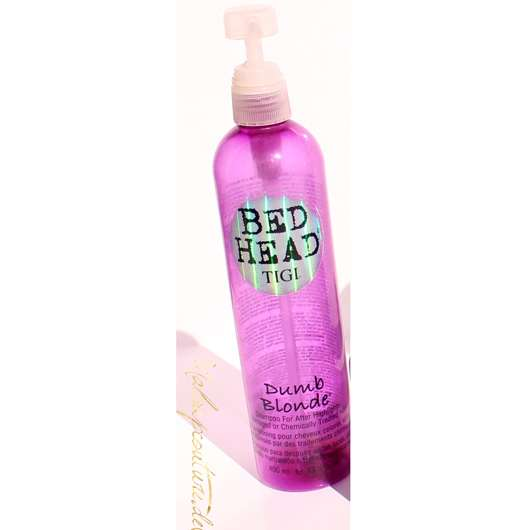<strong>Bed Head by TIGI</strong> Dumb Blonde Shampoo For After Highlights