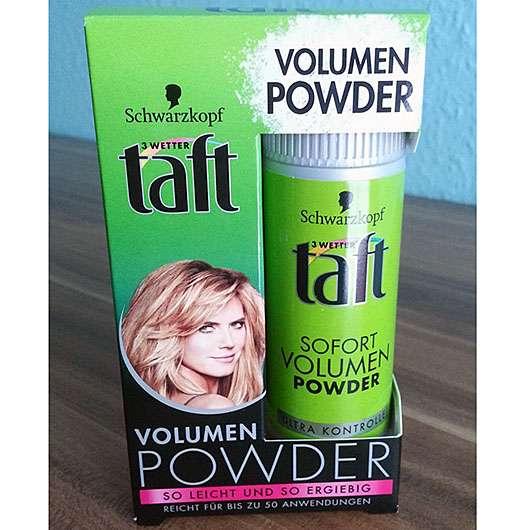 <strong>Schwarzkopf 3 Wetter taft</strong> Sofort Volumen Powder