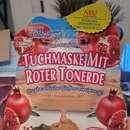 Montagne Jeunesse Tuchmaske mit roter Tonerde
