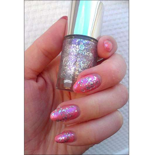 essence cinderella glitter topper, Farbe: 01 the glass slipper (LE)
