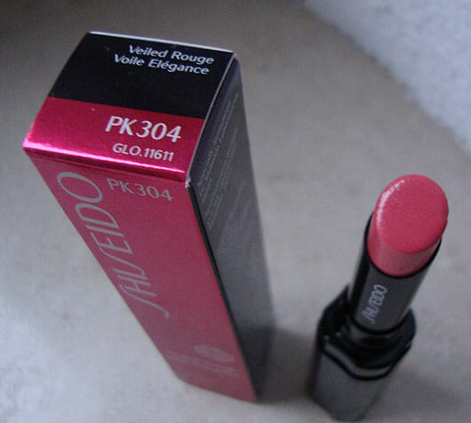 Shiseido Veiled Rouge, Farbe: PK304 Skyglow