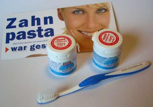 DENTTABS Zahnputztabletten Stevia-Mint (mit und ohne Fluorid)