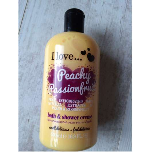 I love… Peachy Passionfruit bath and shower crème (LE)