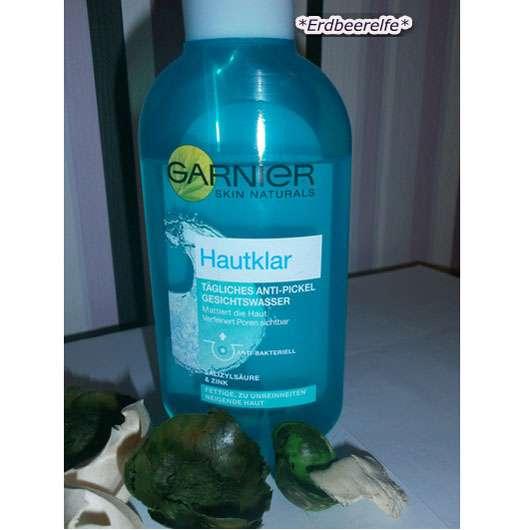 Garnier Skin Naturals Hautklar Tägliches Anti-Pickel Gesichtswasser