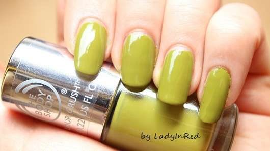 The Body Shop Colour Crush Nail Colour, Farbe: 520 Hemp Over Heals